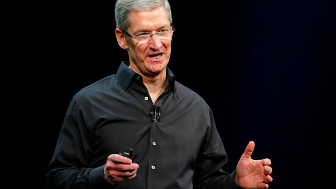 Tim Cook made the iPhones bigger and longer. Do you think he is compensating for something?
