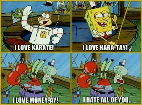 Have your ever try karate or know anyone that has?