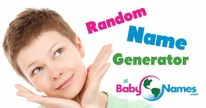What do you think of a random baby name generator?
