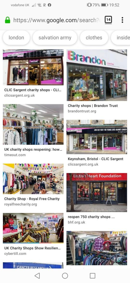 Is there charity shops in your country?