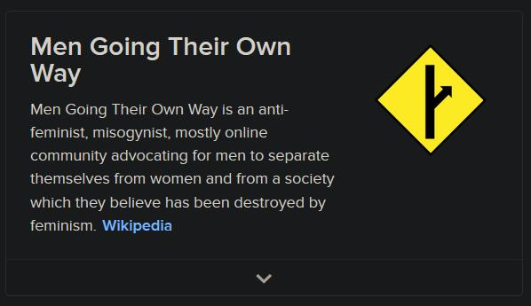 I think wikipedia is not that accurate about MGTOW