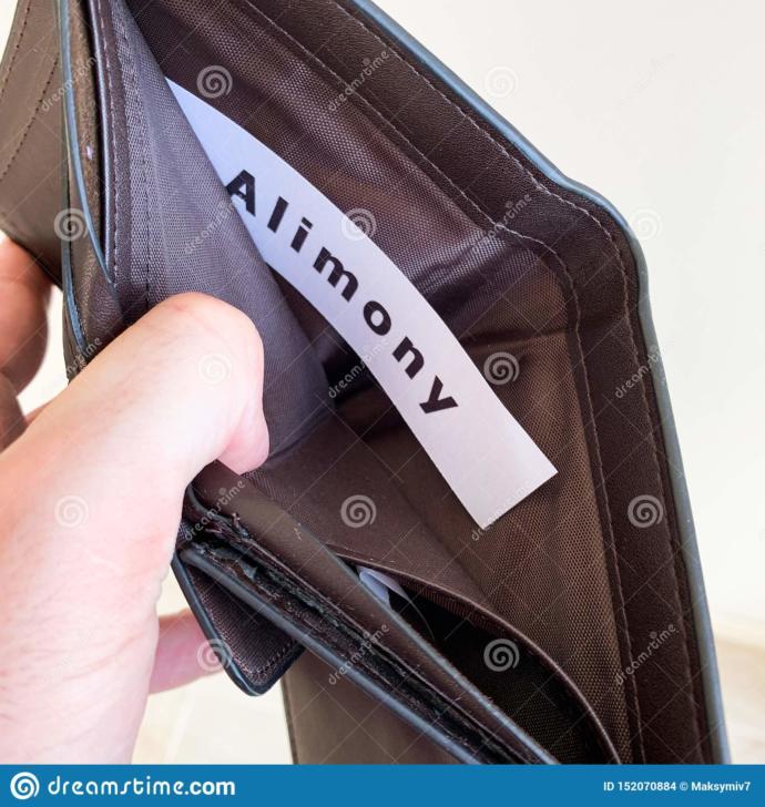 Should unemployed men still pay alimony?