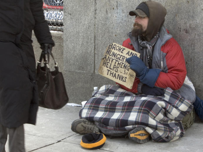 Is poverty really a problem in countries like Canada or the united states?