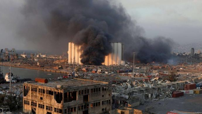 What caused the explosion in beirut?