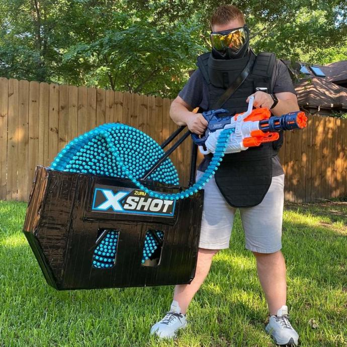 What would you think about having a Nerf gun like this?