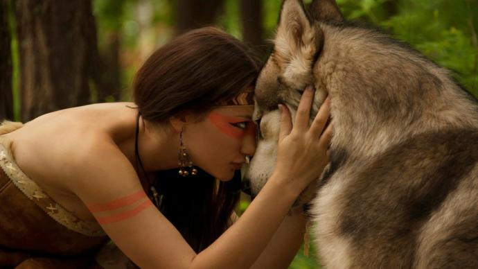 Thoughts? My Dog Raja Looks Just Like This Wolf... 👇👇👇