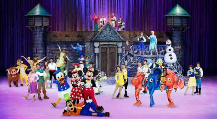 Have you ever been to Disney On Ice?