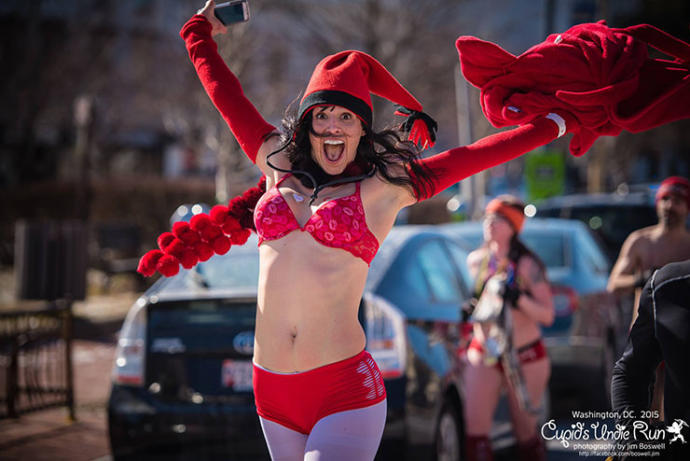 Will You Run In Your Undies To Raise Money For Select Charities?