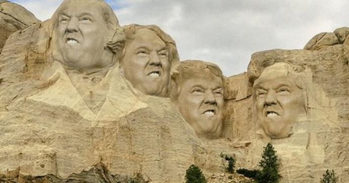 Mount Rushmore, Trump Rushmore, or Rush Trumpmore?