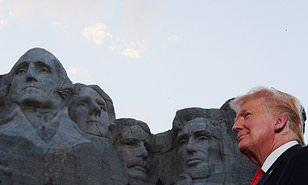 Do you agree with Trump that his image should become part of Mount Rushmore?