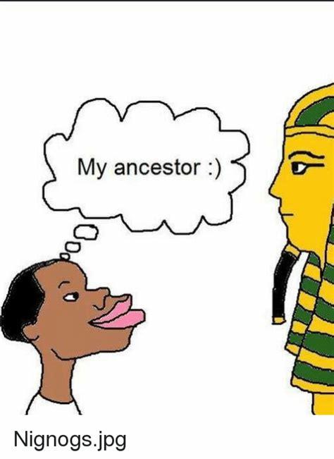 The ancient Egyptians were black... NOT!