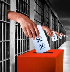 Should criminals in prison be allowed to vote?