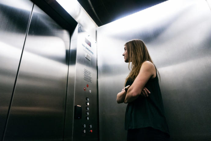 Have you ever been stuck in an elevator?
