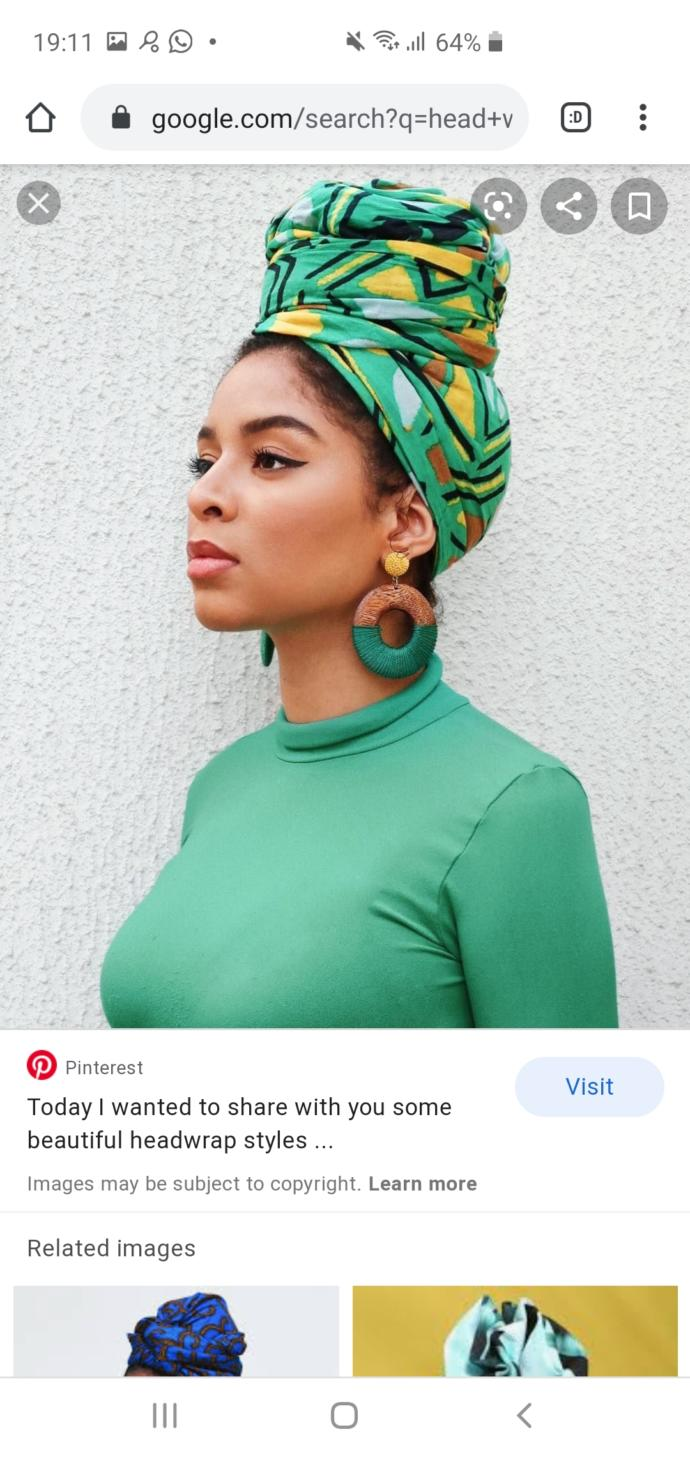 Do you find head wraps attractive?