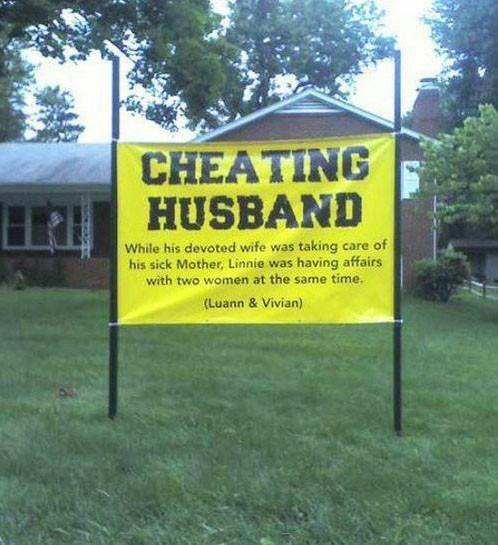 Have you ever been cheated? How did you find out and what did you do?
