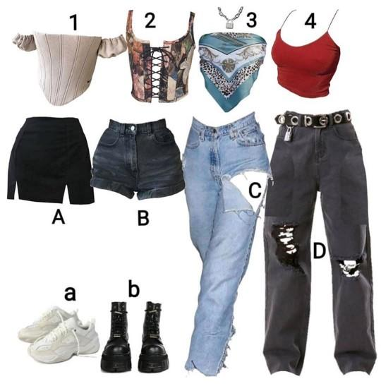 What outfit do you like?