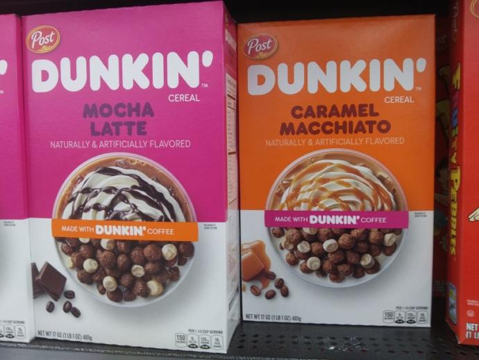 What do you think of dunkin coffee cereal?