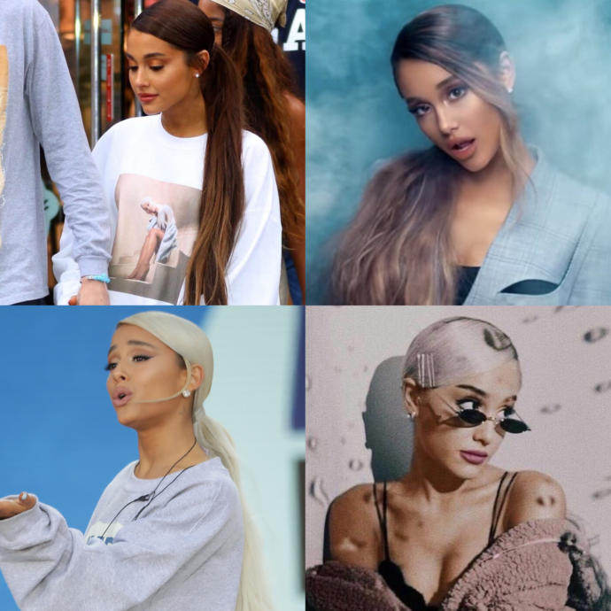 Which version of Ariana Grandes ponytail is the best?