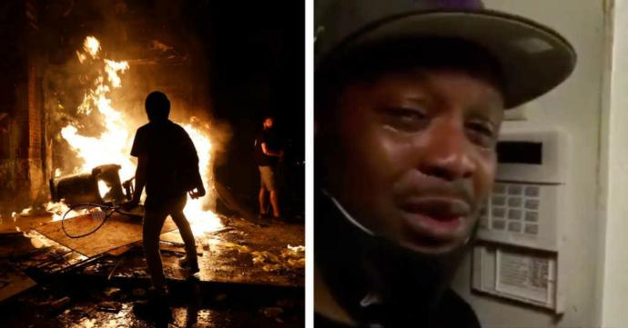 Do you think people who are directly affected by the riots would share similar views with you?