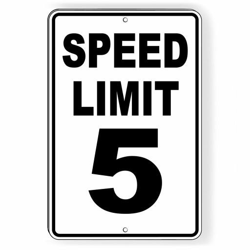 Should we lower the speed limit everywhere in America to 5 miles an hour to save lives?