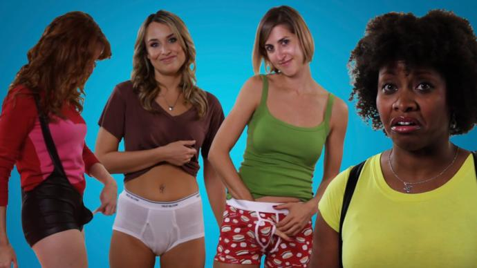 Would you switch underwear with the opposite sex for a week?