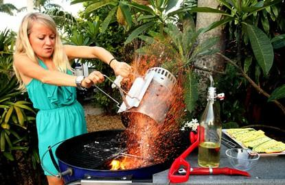 Girls, how many of you know how to grill?