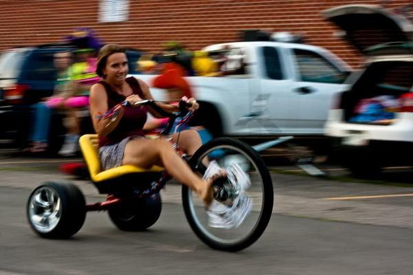 What do you think about adult sized big wheel bikes?