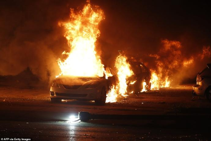 What do you think of BLM burning looting, rioting in Wisconsin?