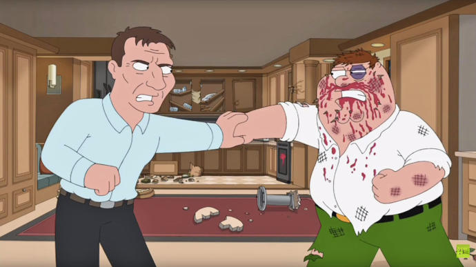 Am I weaker than Peter Griffin since my nose started bleeding for no reason?