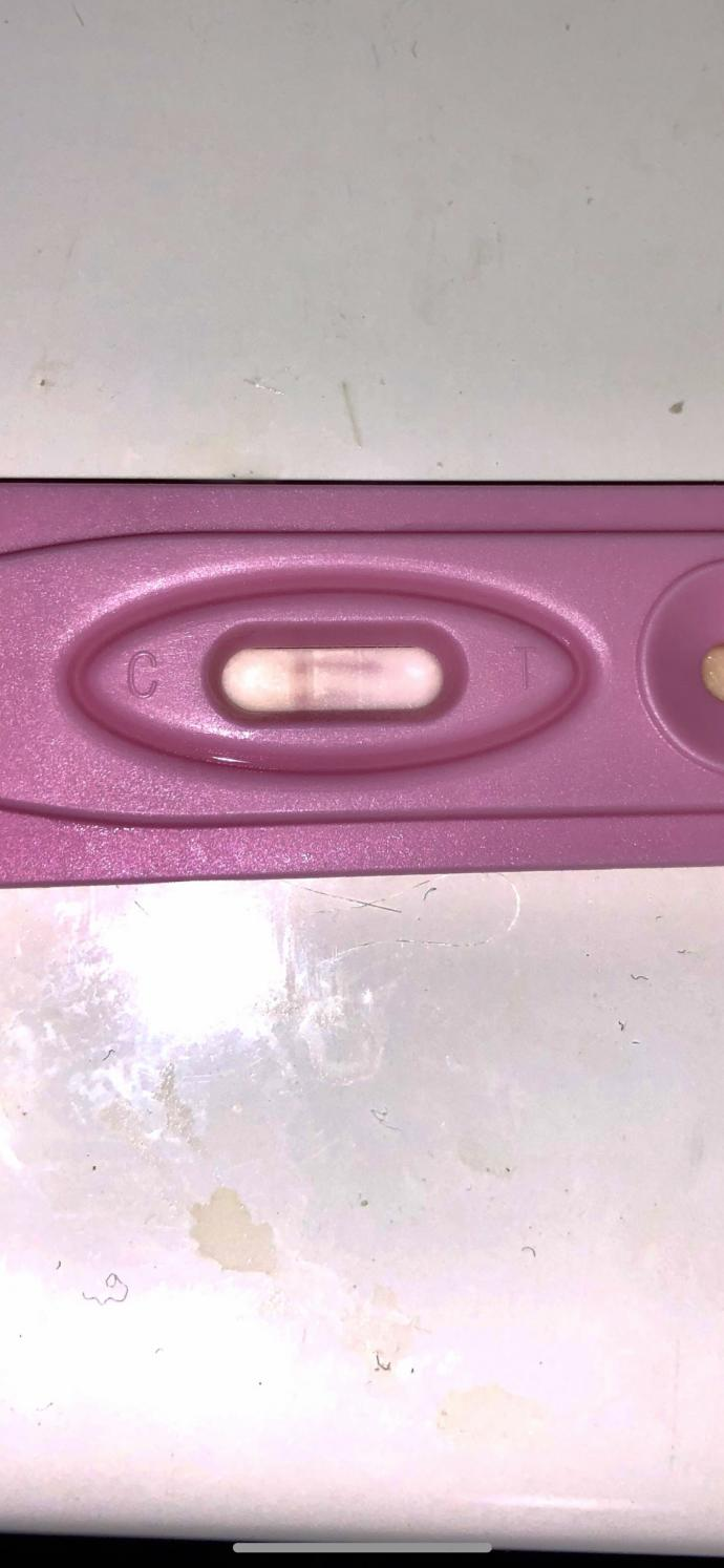I took a pregnancy test today and right away these lines showed up within test time. Should I take it as a positive? it got darker later on?