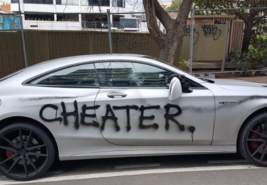 Have you ever caught your guy cheating and totally lost it ...I mean SERIOUSLY LOST IT?