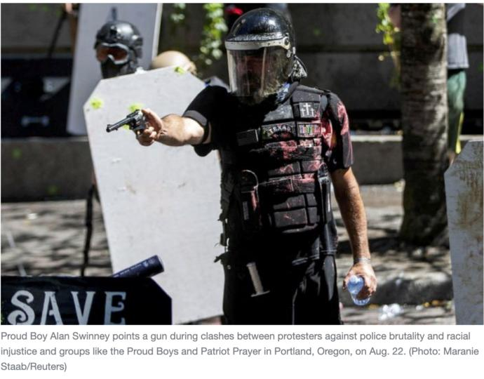 You right wingers are protesting Portland too, right?