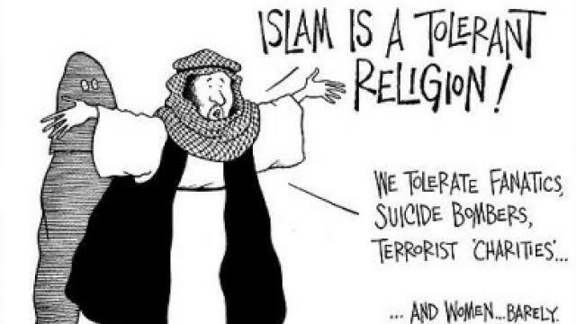 "A ""peaceful"" religion"