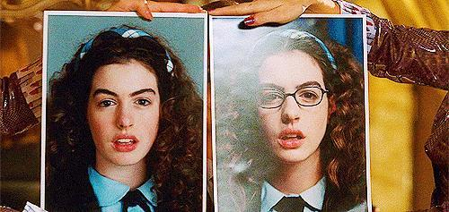 Before and afters... Thoughts? #ThePrincessDiaries