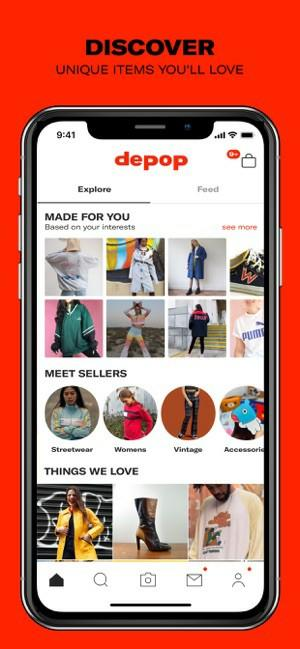 Have you ever heard of the fashion app depop?