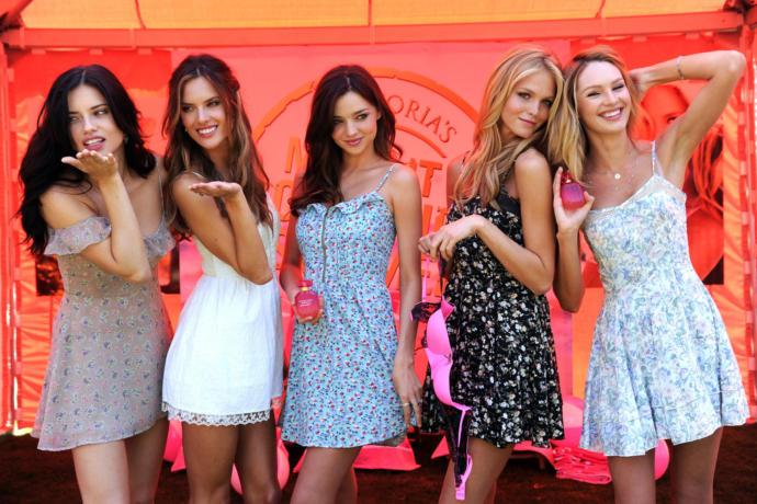 Adriana Lima, Alessandra Ambrosio, Miranda Kerr, Erin Heatherton or Candice Swanepoel