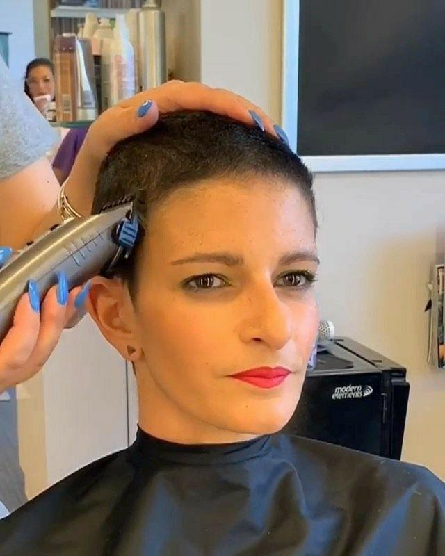 Girls would you model for a flat top or similar haircut if you would be paid for the job?