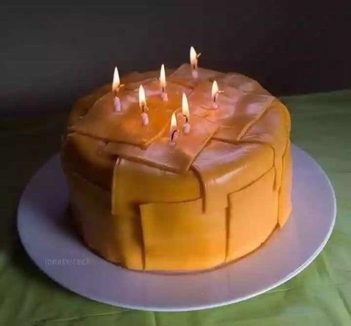 Would you eat this cheese cake?