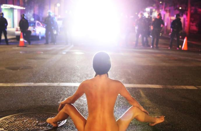Do you find NUDITY as violence?