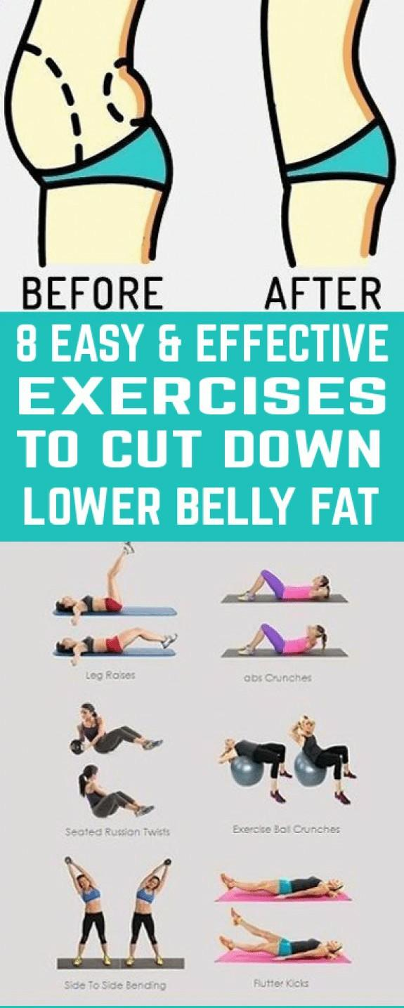 Exercises for lower belly fat?