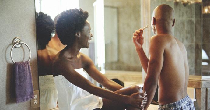 Who is better at shaving, men or women?