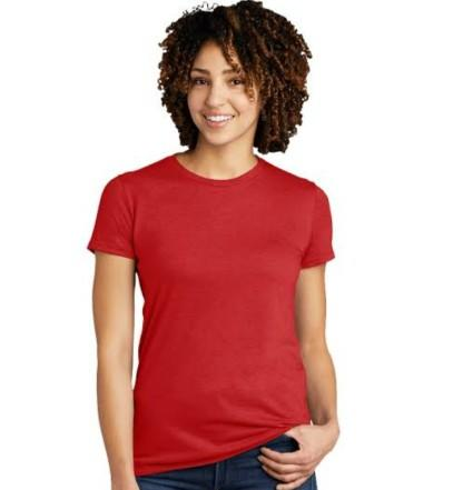 How would you style a simple red tee shirt?