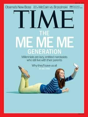 Do you think that the generation we are all living in now is more entitled and narcissistic than in previous generations?