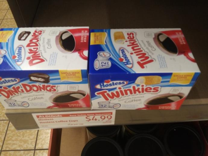 What do you think about Twinkie or ding dongs coffee?
