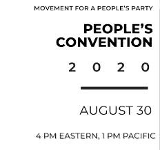 """Does you Intend to attend/ watch the """"PEOPLE'S CONVENTION"""" 2020 August 30 4 PM EASTERN, 1 PM PACIFIC?"""