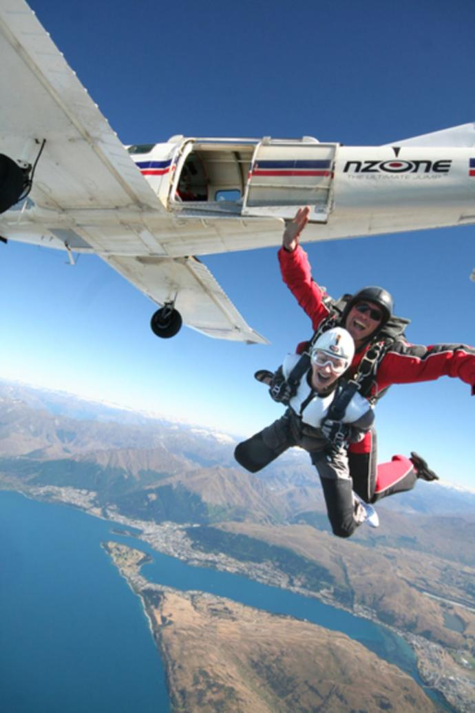 What would it take to get you to jump out of an airplane?