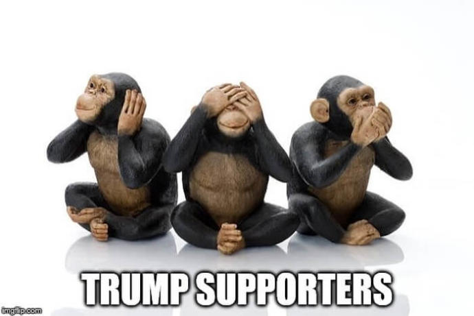 So which one was he - See No Evil, Do No Evil, Speak No Evil, Hear No Evil - Or follow his boss blindly?