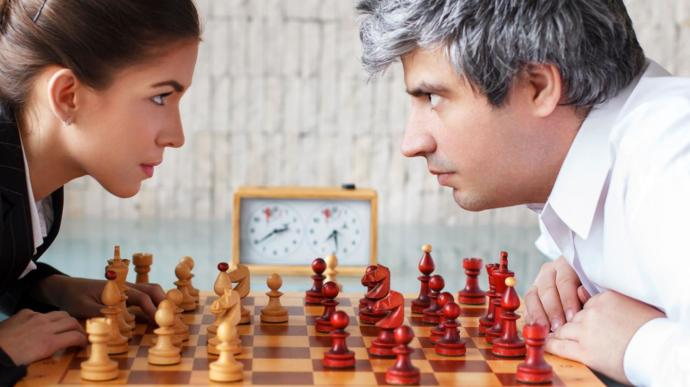 Men are more intelligent than women because they are better at chess. Do you agree?