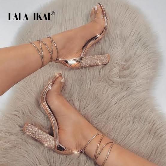 Do you like transparent heels?