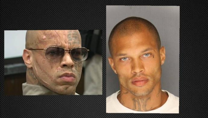 Ladies who is hotter Nikko Jenkins (left) or Jeremy Meeks (right) ?